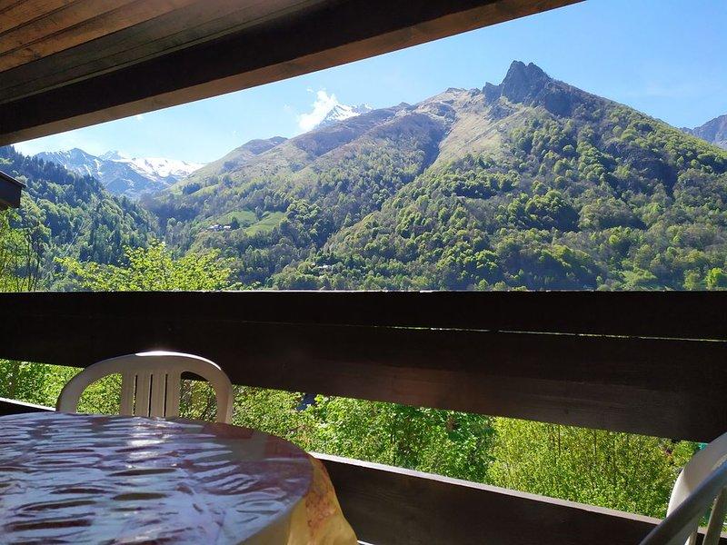 Duplex  4/6 pers -  Terrasse dans un cadre nature, location de vacances à Cauterets
