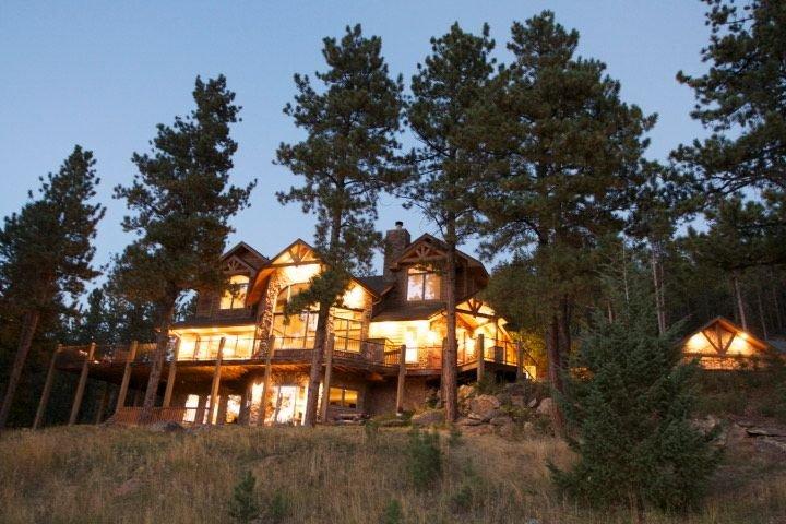 Mtn Luxury Retreat 10 private acres-Views, Privacy, location de vacances à Evergreen