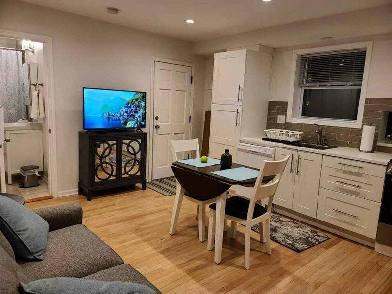 Private 1 Bdrm Suite w/Spa 25 Min Train Dwtn Chicago, vacation rental in Norridge