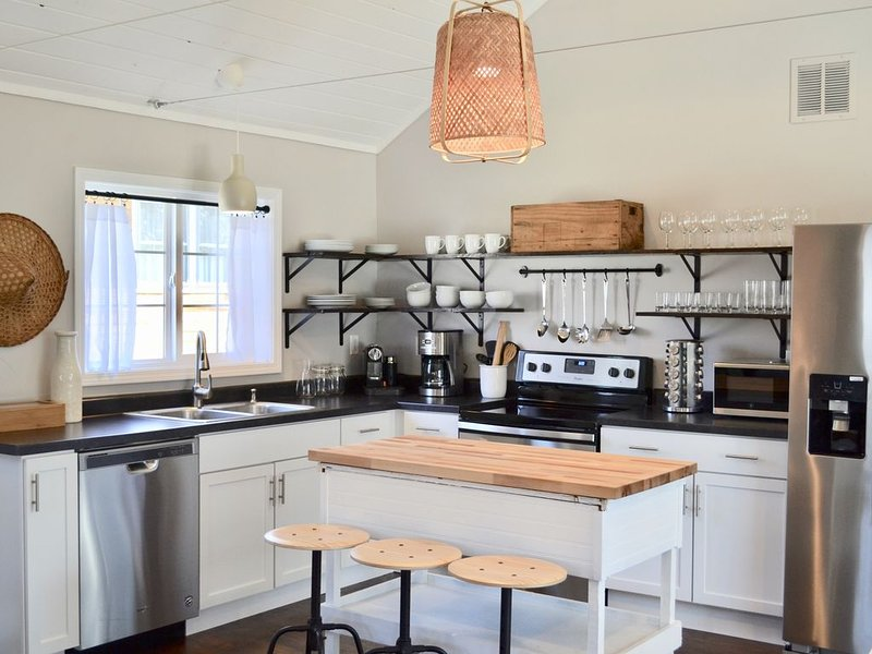The Sycamore Cottage - 2 Bedroom & 1.5 Bathroom - Steps to Downtown, holiday rental in Three Oaks
