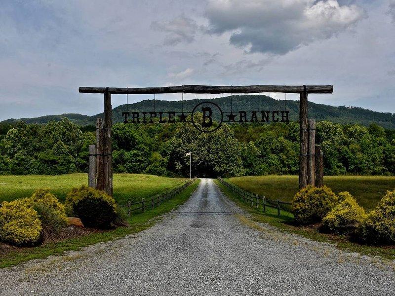 1350 Acres! 10K Sq. ft Estate w/ Mountain Views!!, holiday rental in Vein Mountain