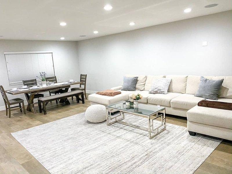 Brand new luxury house in Downtown San Jose 3/2br, location de vacances à Milpitas