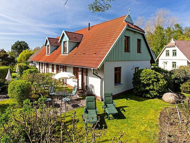 Reihenendhaus Buchenhof 4d im Ostseebad Wustrow, casa vacanza a Saal