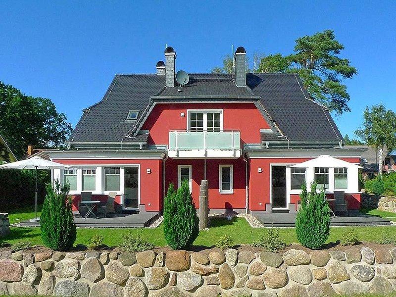 Ferienhaus DÜNENROT Maisonette-Whg. DR-03 im Ostseebad Dierhagen, holiday rental in Klockenhagen
