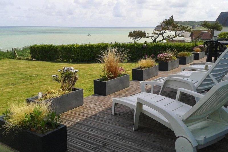 Ferienhaus, Quiberville-sur-Mer, holiday rental in Quiberville