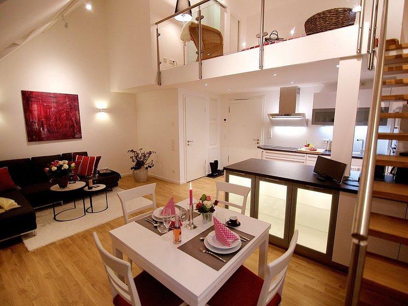 Galeriewohnung (55qm) mit Küche und WLAN, Ferienwohnung in Bad Abbach