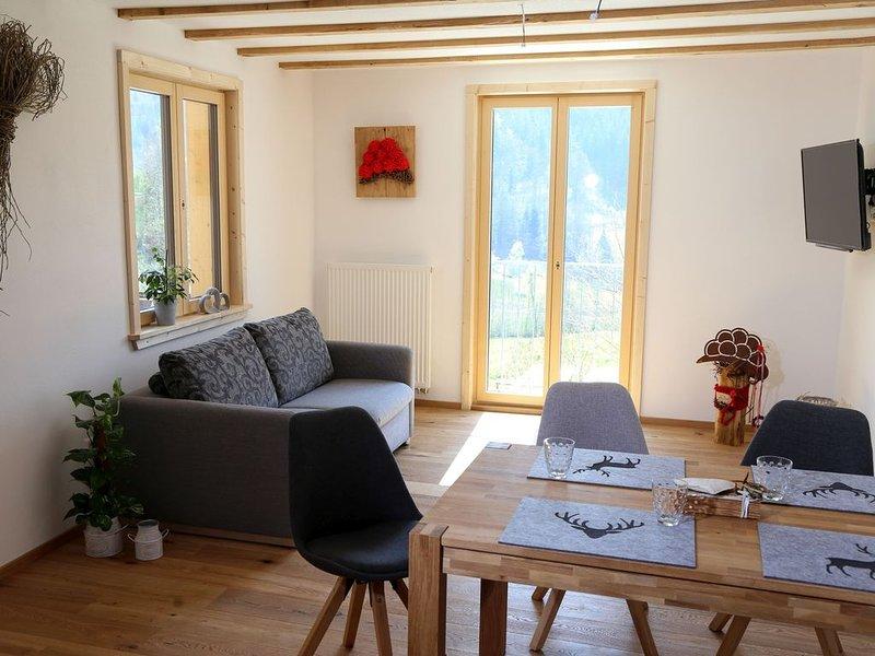 Ferienwohnung 1, hundefreundlich, 70qm, Balkon, 1 Schlafzimmer, max. 4 Personen, holiday rental in Durbach