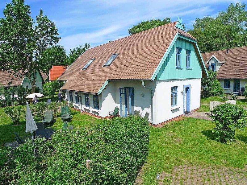 Doppelhaushälfte Weidenhof 6b im Ostseebad Wustrow, casa vacanza a Saal