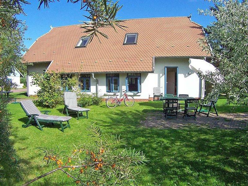 Doppelhaushälfte Weidenhof 5b im Ostseebad Wustrow, casa vacanza a Saal