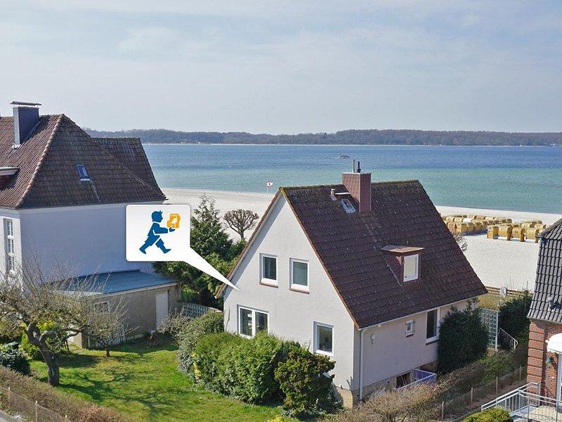 Erste Strandlage mit traumhaftem Blick auf die Ostsee, holiday rental in Laboe