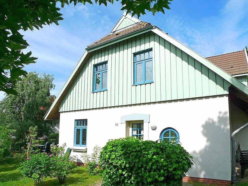 Reihenendhaus Sanddornhof 5d im Ostseebad Wustrow, casa vacanza a Saal
