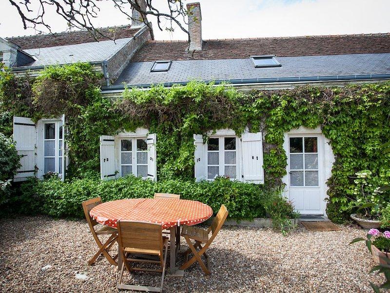 Maison de caractère et de charme avec  piscine chauffée entre Blois et Amboise, holiday rental in Saint-Nicolas-des-Motets