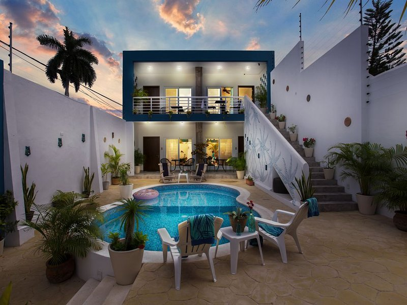 ❤Relax and Recharge | Fastest WiFi | couple's paradise | Stingray Villa❤, holiday rental in San Miguel de Cozumel