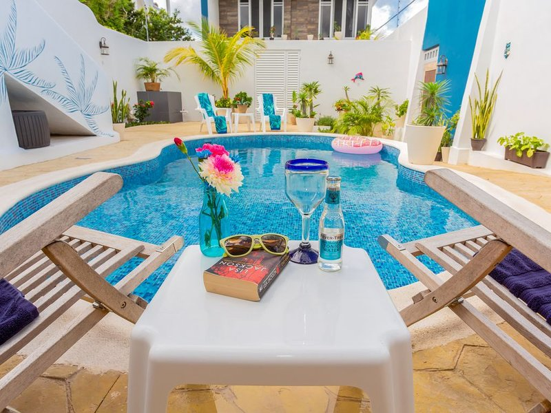 ☀️Recharge and Relax | fastest WiFi | by the sea | Stingray Villa☀️, holiday rental in San Miguel de Cozumel