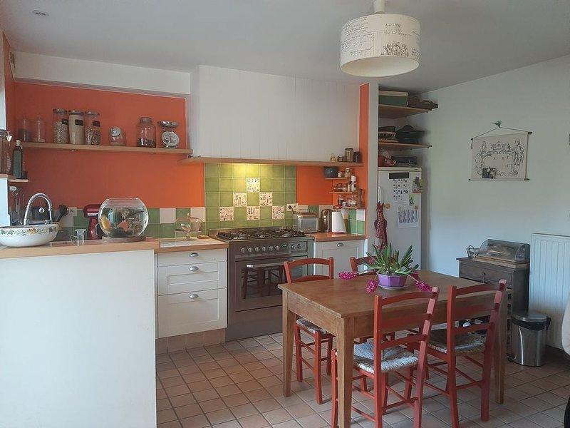 Magnifique demeure d'artiste pour toute la famille, alquiler de vacaciones en Auray