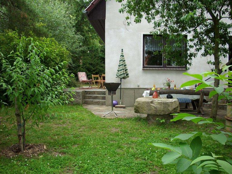 Sehr idyllisch und ruhig gelegenes Ferienhaus in der Mecklenburgischen Schweiz, casa vacanza a Muhl Rosin