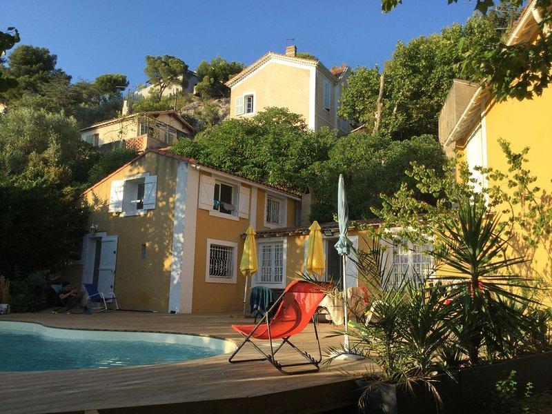 La campagne Provençale en Ville de Marseille, holiday rental in Plan De Cuques