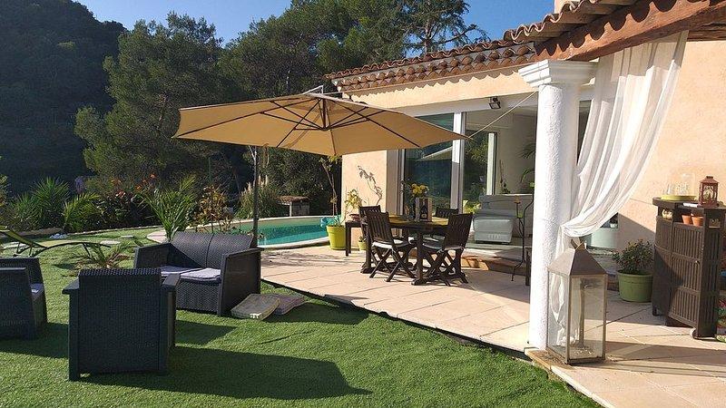 Villa sur les collines niçoises, vacation rental in Colomars