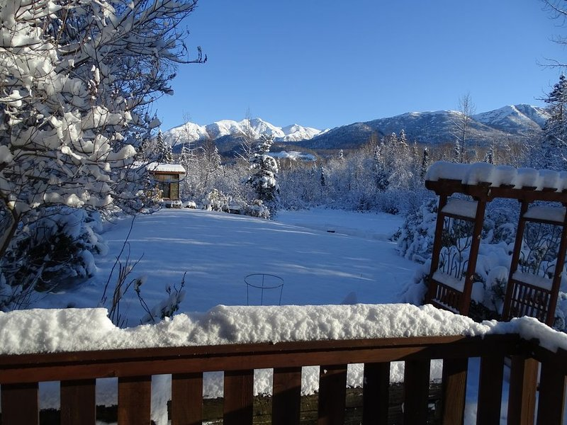 Mink Creek Air BnB - Alaska Living 20 minutes from downtown Anchorage, holiday rental in Big Lake