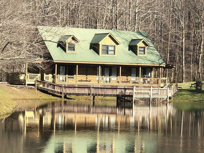 Lakefront Lodge with Loft Bedroom, Sleeper Sofa, One Bath, vacation rental in Rabun Gap