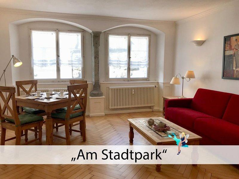 Charmant in einem historischen Gebäude, zentral und nur 100m zum See, vacation rental in Dornbirn