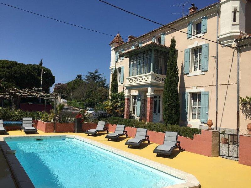 De grands espaces près de Carcassonne idéal pour des vacances en toute sécurité, holiday rental in Montmaur