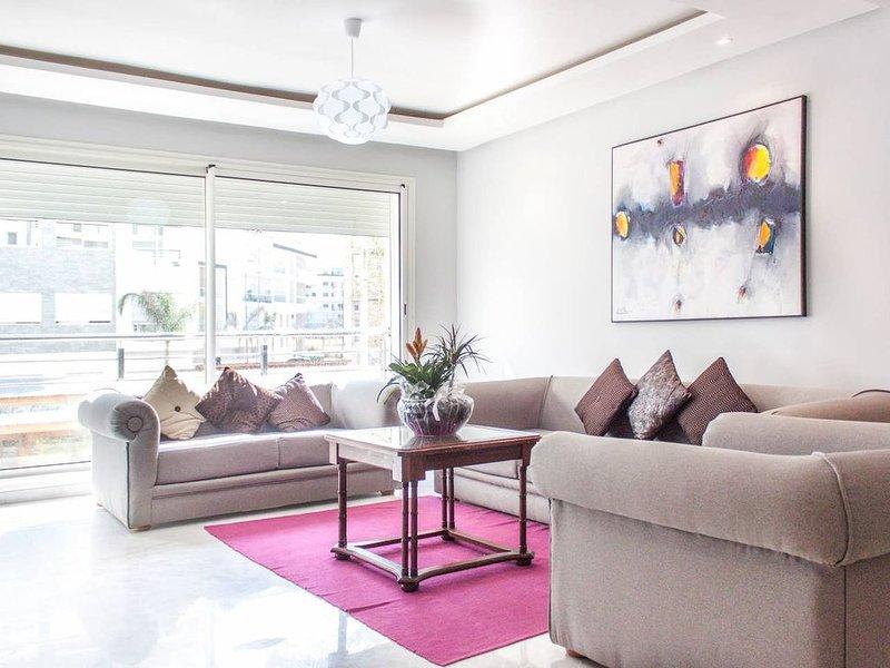 Hay Riad Rabat 1 - Quartier d'Affaires, alquiler de vacaciones en Región de Rabat-Salé-Zemur-Zaer