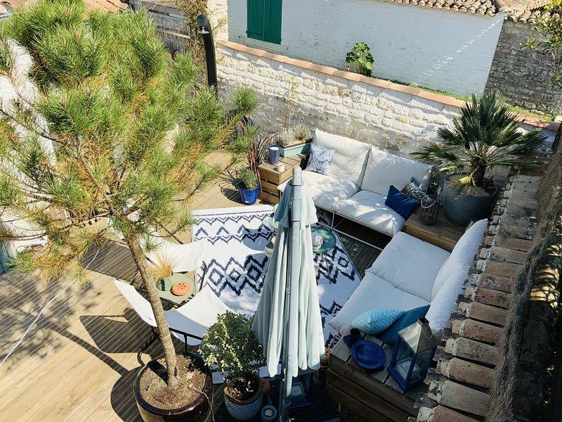 Maison de vacances paisible et tout confort proche de la plage, aluguéis de temporada em Dolus-d'Oleron