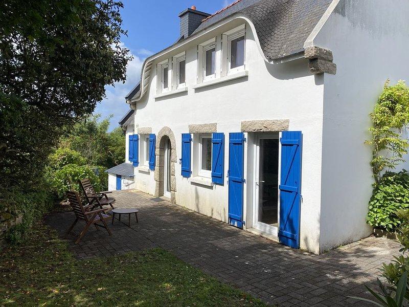 Charmante maison Bretonne, 10min des plages à pied, aluguéis de temporada em Saint-Philibert
