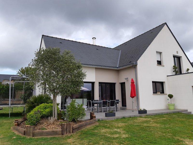 Maison située à 1km baie de La Baule / Pornichet - 169m2  - 8/9 couchages, holiday rental in Saint Andre des Eaux