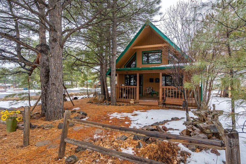 Cozy Three Bedroom Cabin With Golf, Fishing, and a lot of relaxation., holiday rental in Munds Park