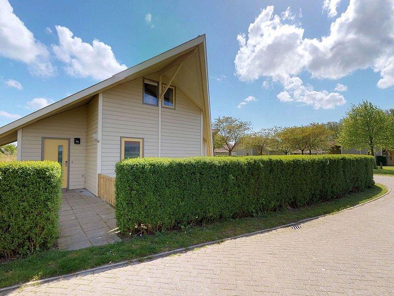 Beautiful, new, light cottage for 6 persons., alquiler vacacional en Wolphaartsdijk