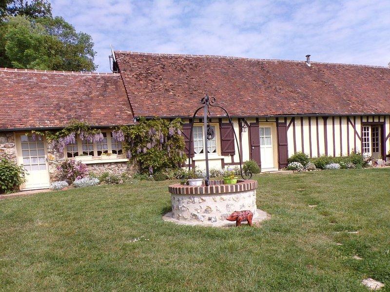 Dans le Pays de Brou maison de plain-pied dans la campagne à Unverre, casa vacanza a Cloyes-sur-le-Loir