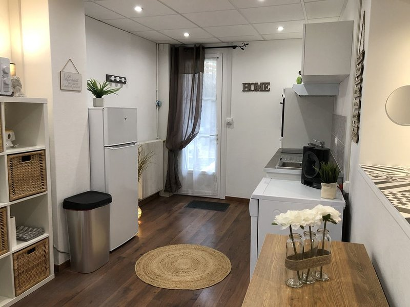 SUPERBE LOGEMENT CENTRE VILLE AVEC JARDIN, aluguéis de temporada em La Couture Boussey