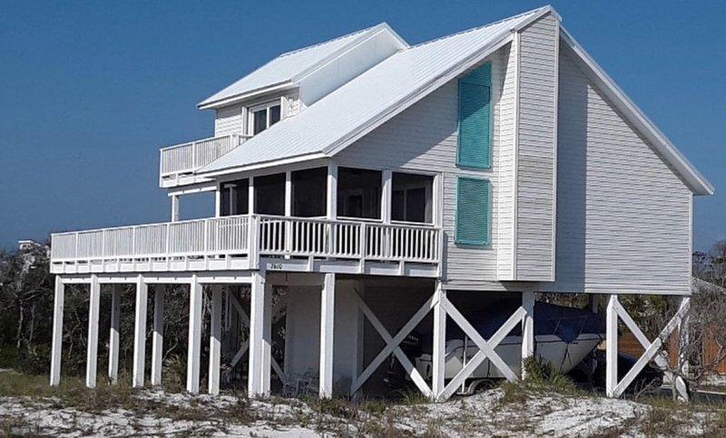 Gulf View/ Private Pool Cape San Blas Florida Spacious Home, vacation rental in Cape San Blas
