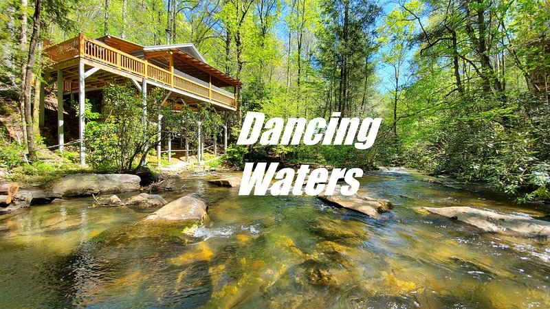 �Couples Paradise �Unforgettable Whitewater Waterfront� Easy Access & Near BR, vacation rental in Gilmer County