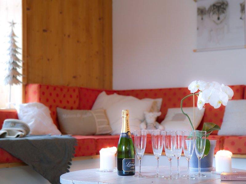 Chalet Les Copains, holiday rental in Mizoen