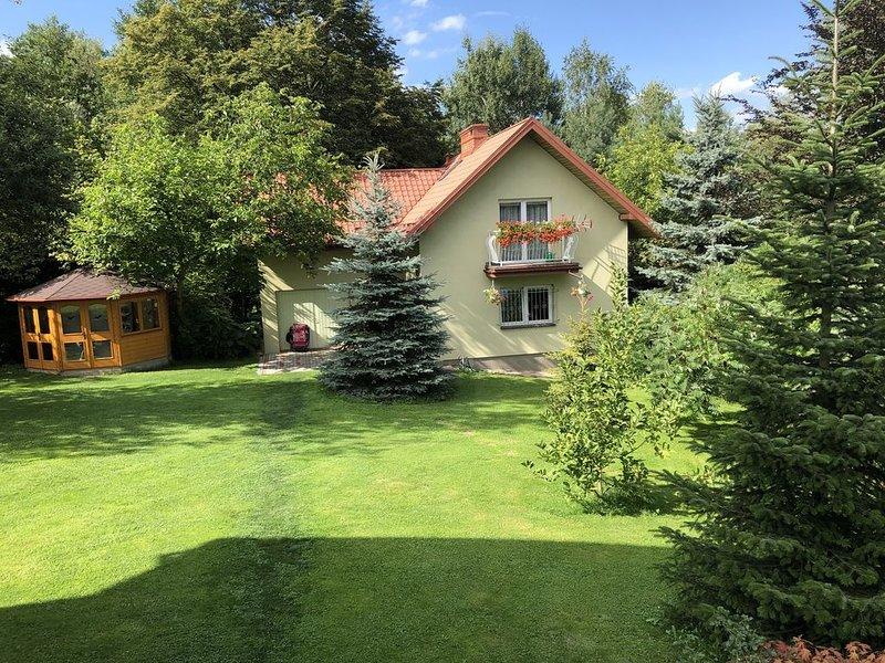 Familienurlaub in Südpolen -  Urlaub im Ferienhaus  nicht nur im Sommer, holiday rental in Roznow