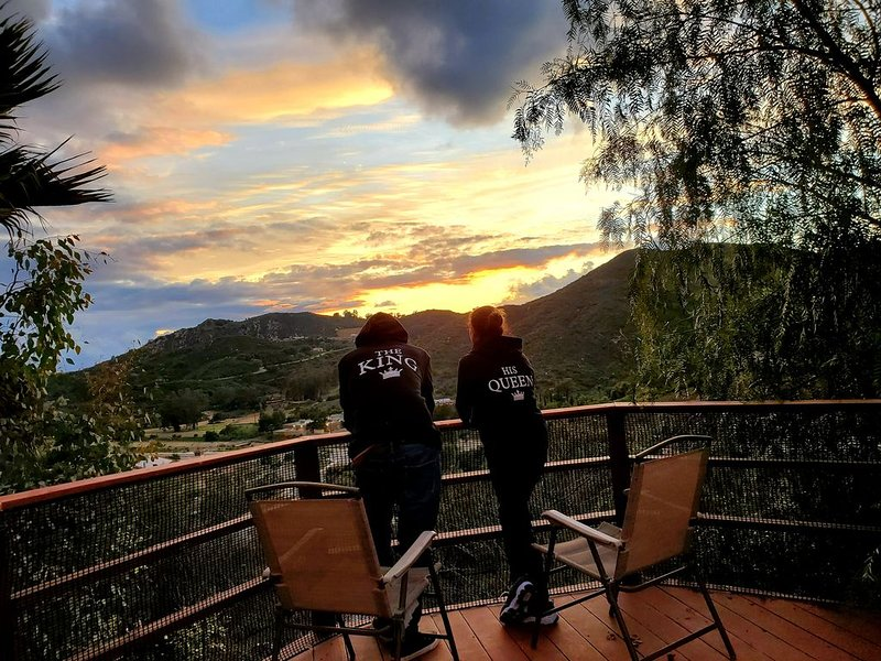 Beautiful Luxurious countryside house breath taking view 360° modern touch up., vacation rental in Escondido