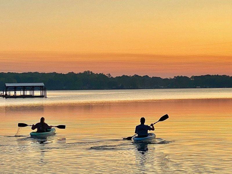 Beautiful early morning kayaking!