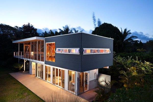 Hale Ohai: Modern Elegance in the Jungle near Pohoiki and Kehena Beaches, vacation rental in Pahoa