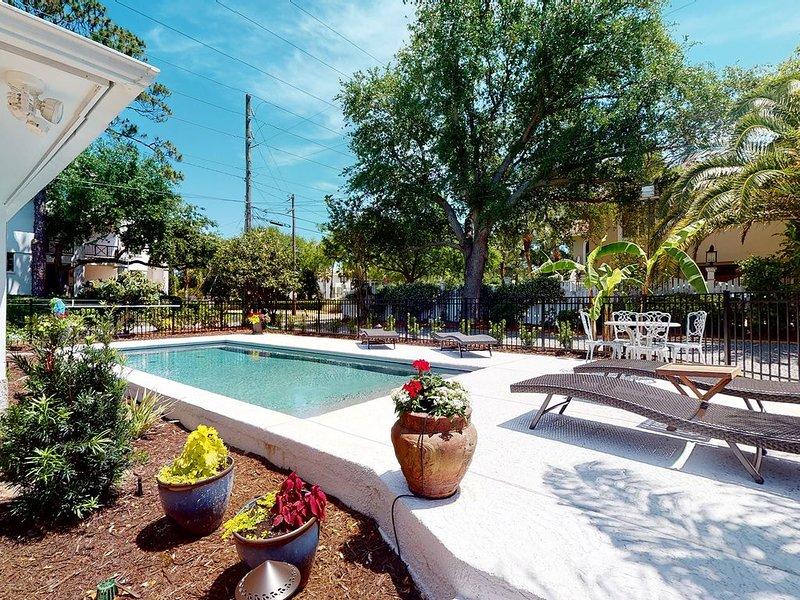 Coastal Dream 4 bedroom single level home with POOL!, location de vacances à Sea Island