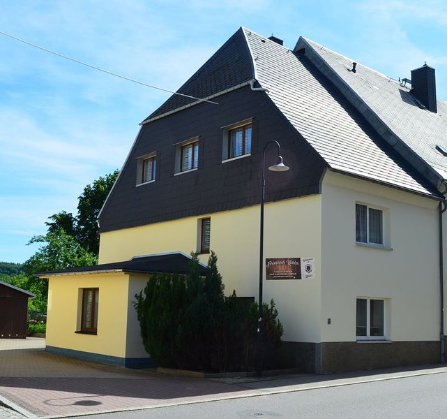 Ferienhaus Köhler in der Serpentinsteinsadt Zöblitz, location de vacances à Sayda