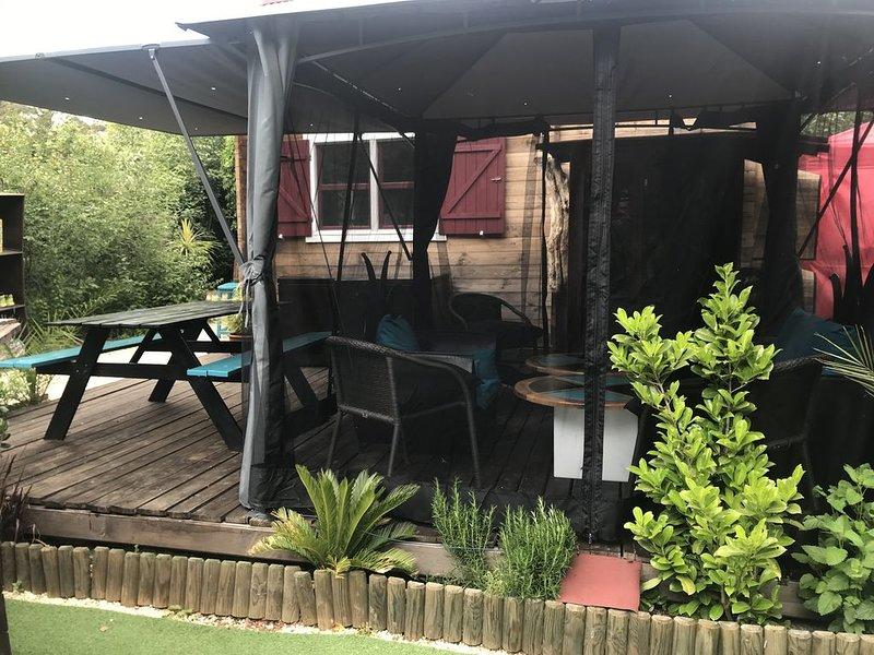 Le petit chalet cévenole, vacation rental in Ales