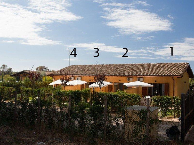 Villino 3 Sabaudia  a due passi dal mare nel parco nazionale del Circeo, holiday rental in Latina Lido
