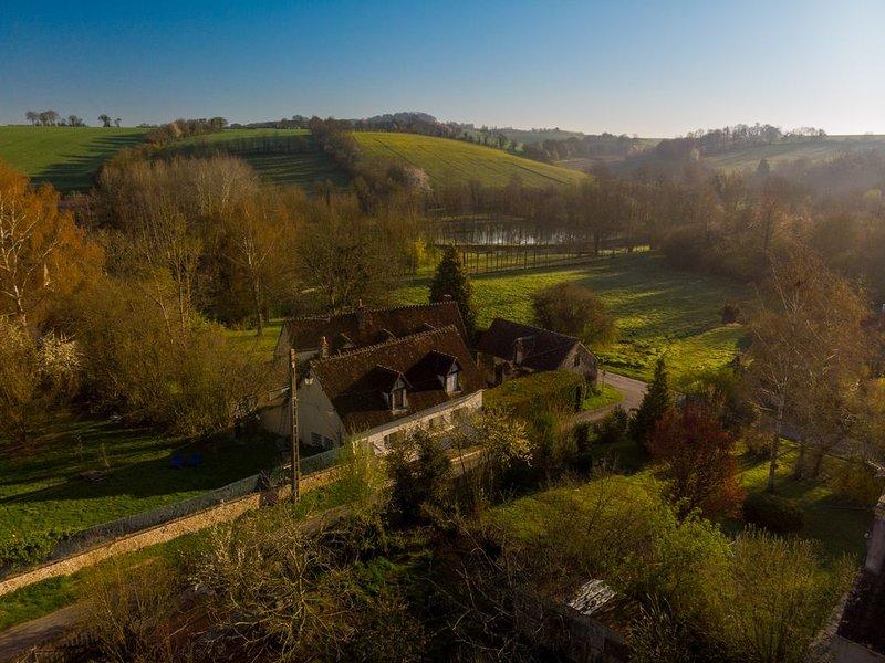 Elégante maison  de campagne dans un village percheron - 1h30 de Paris, location de vacances à Eure-et-Loir