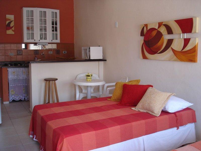 RECANTO KONA KAI - APTO SAMOA ⭐️  Charme e  conforto na praia!  �⛱, aluguéis de temporada em Praia Grande