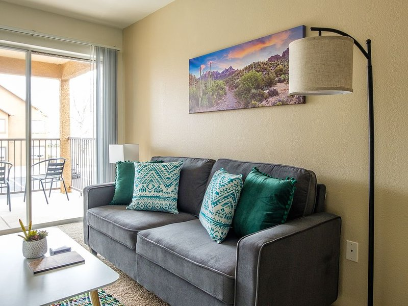 Comfy and Convenient 1BR, holiday rental in Albuquerque