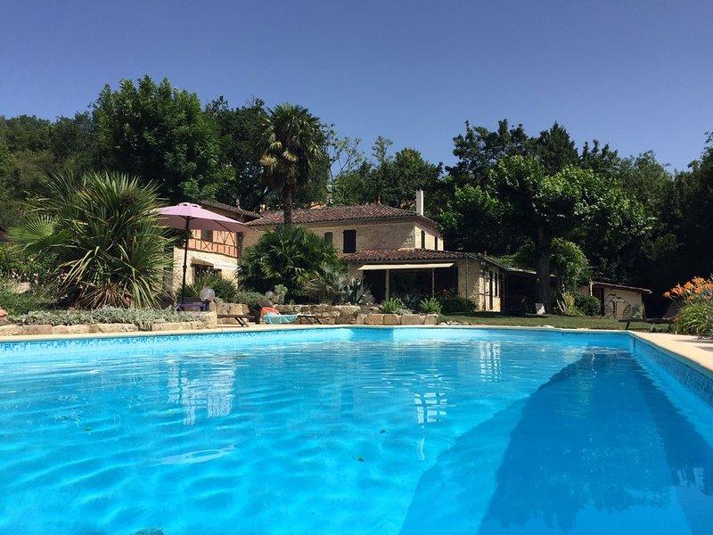 Auch ,Maison grand standing 1km du centre  et au calme ,piscine ,parc ,wifi,, vacation rental in Aubiet
