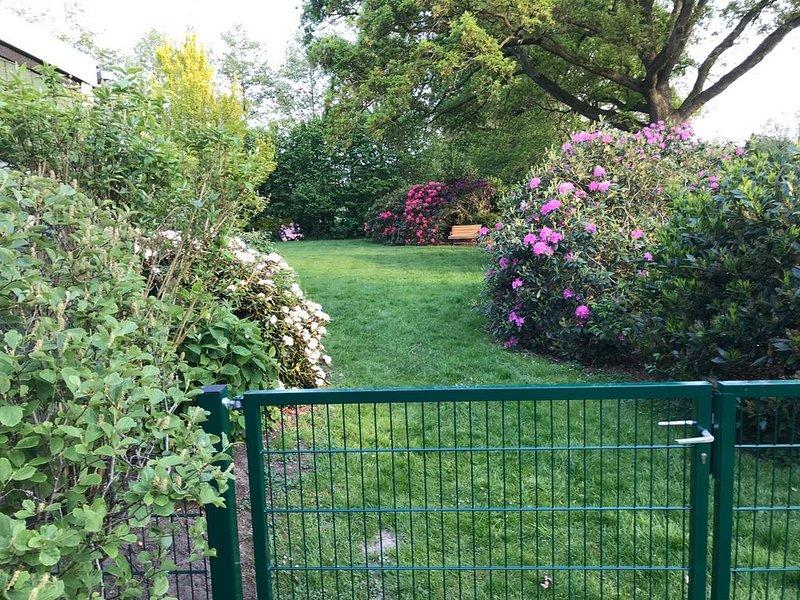 nordseenahe hundefreundliche Ferienwohnung eingezäunter Garten, alquiler vacacional en Sudbrookmerland